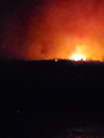 Diamond Lake Resort fire