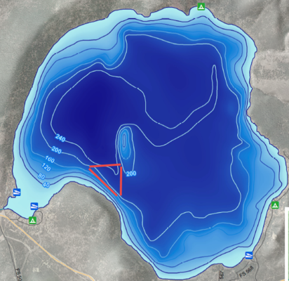 Paulina Lake Fishing Report